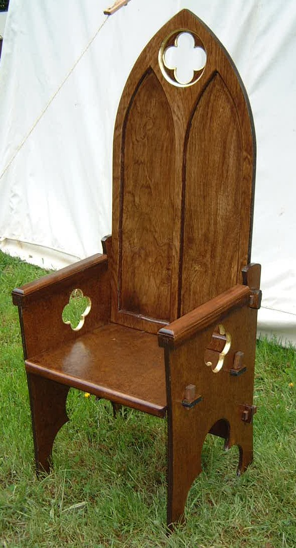 No Comments To U201cA Gothic Chair: Making SCA Camp Furniture For Pennsicu201d