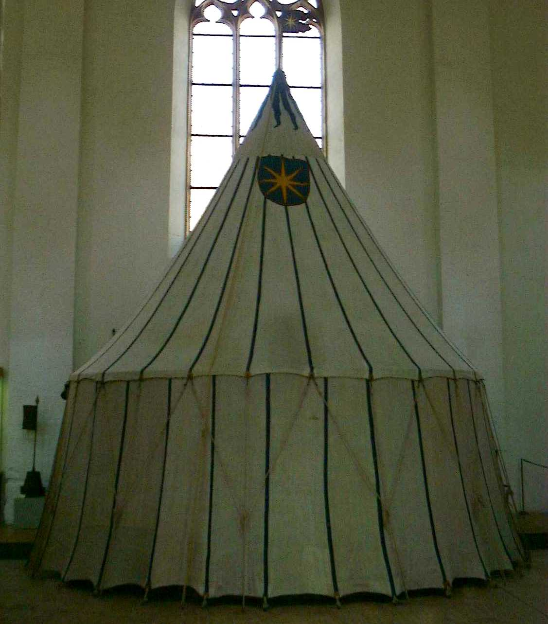 Medieval Tent in Basel museum · Medieval Pavilion in Basel & Medieval Pavilino in Basel