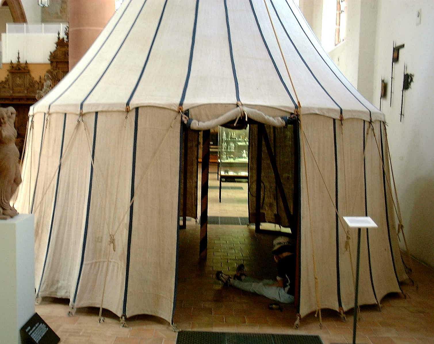 Basel pavilion ... & Medieval Pavilino in Basel