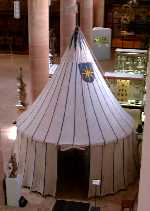 Photo of surviving 16th-century (?) tent on this design
