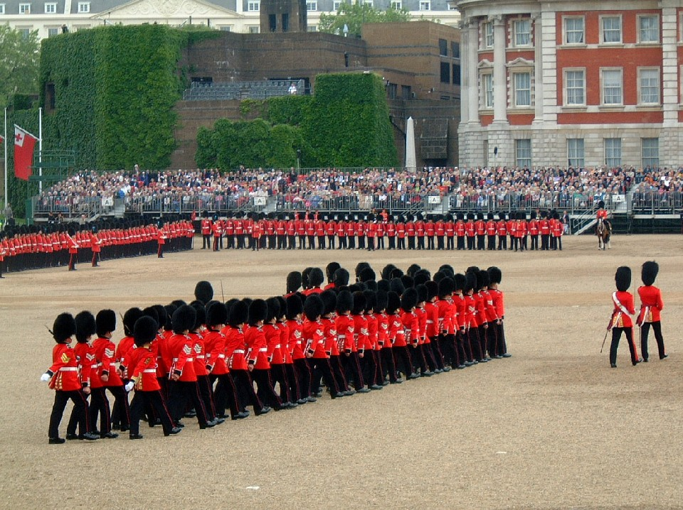 Queen's Birthday Parade - Trooping the Colours